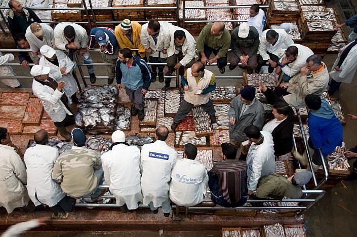 Fish market Agadir Maroc | Roelof Foppen Photography