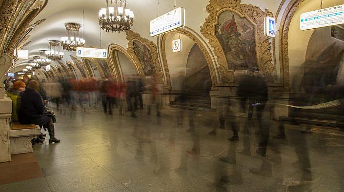 Moscow Metro Revolution | Roelof Foppen Photography