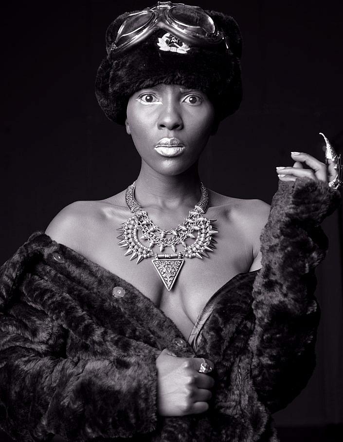 Black White Model | Roelof Foppen Photography