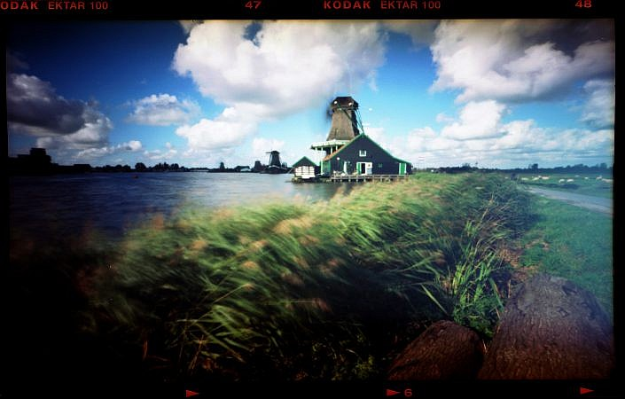 Dutch windmills pinhole Roelof Foppen Photography