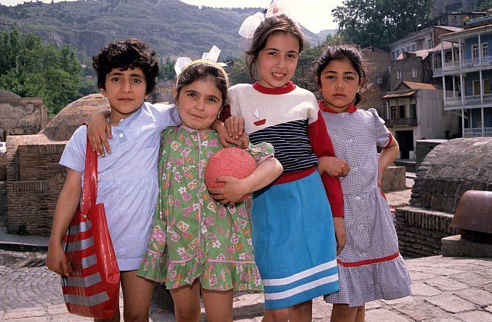 Tbilissi Kids Roelof Foppen Travelphotography