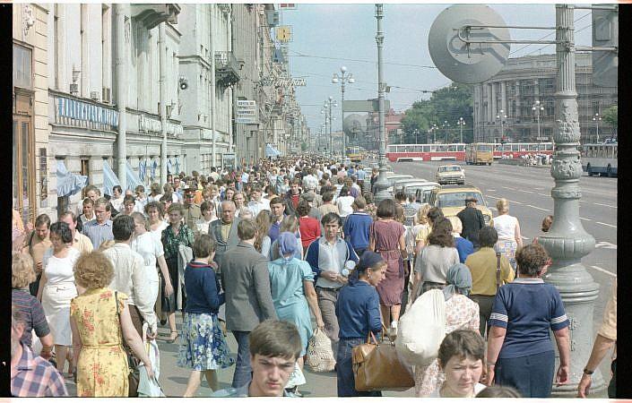 Leningrad 1986 CCCP | Roelof Foppen Photography