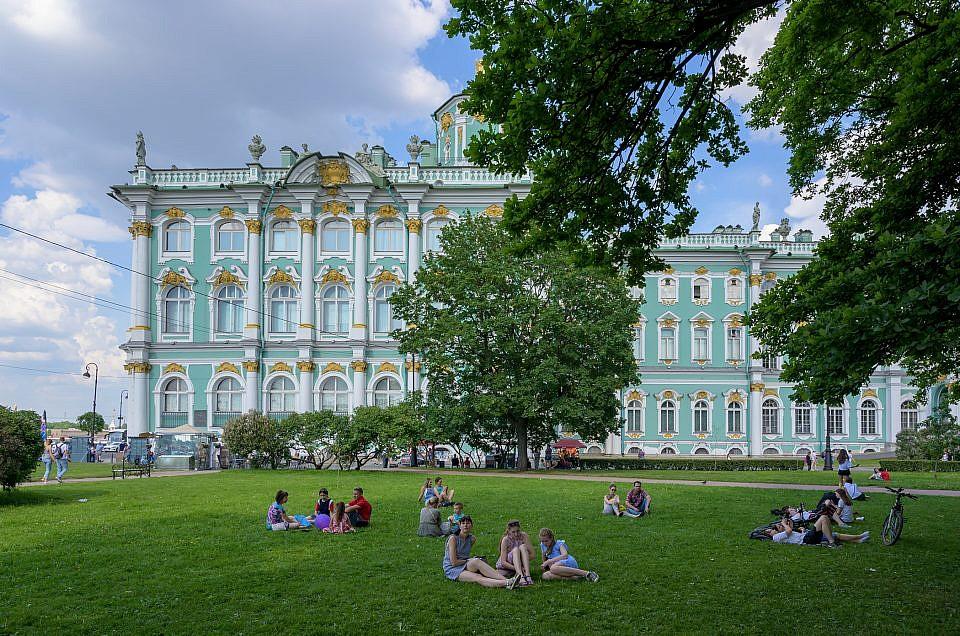 Winter palace Sint Petersburg Russia