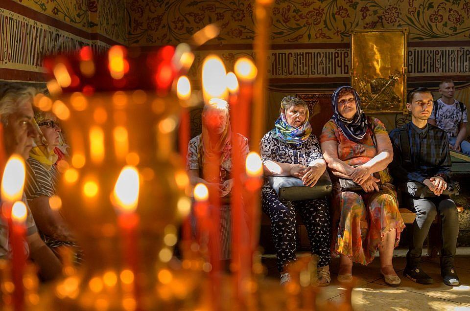 Russian Orthodox church Zagorsk